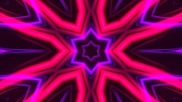 Vykreslit pozadí abstraktní krásný kaleidoskop jako okvětní lístky květin, 3d pozadí computeru