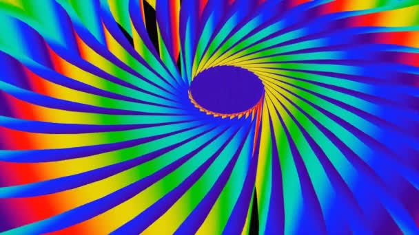 3D barevné pozadí s kruhového tvaru, jasné duhové barvy, 3d vykreslení pozadí computeru
