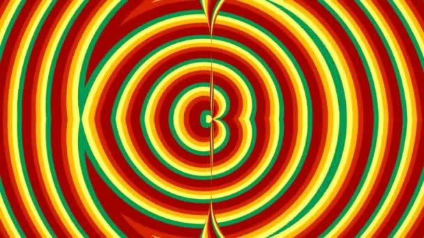 Barevná duha pruhované pozadí, kreslený styl, vykreslování 3d pozadí computeru