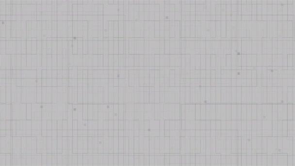 HUD illesztő-val fehér vonalak, 3d render háttérrel, digitális integrált hálózati technológia, nyomtatott áramköri