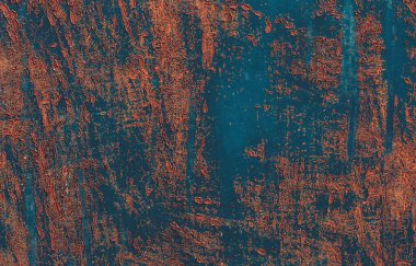 Grunge metal texture. Old blue metal surface. Rusty metal background with traces of exploitation. Blue grunge background texture. Metal or iron plate surface.