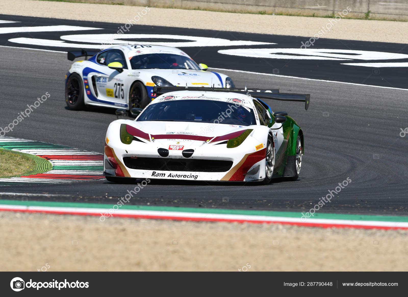 Mugello Circuit Italy July 2019 Ferrari 458 Gt3 Iron Linx Stock Editorial Photo C Dan74 287790448
