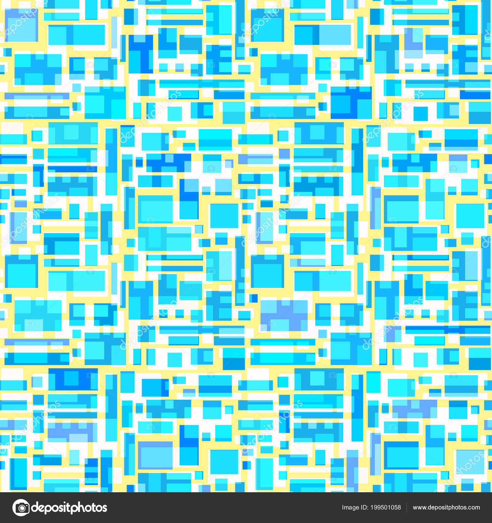 Seamless Multicolored Pattern Abstract Geometric Wallpaper Surface
