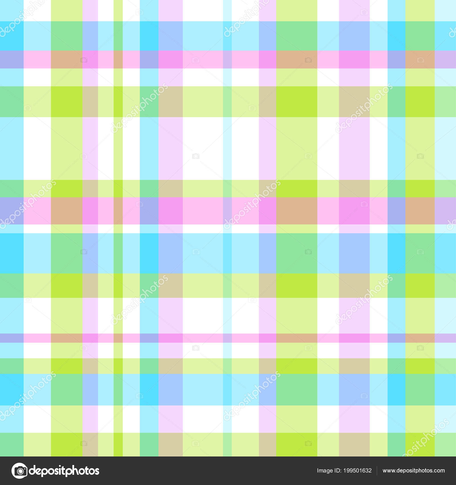 Seamless Multicolored Pattern Checkered Background Abstract