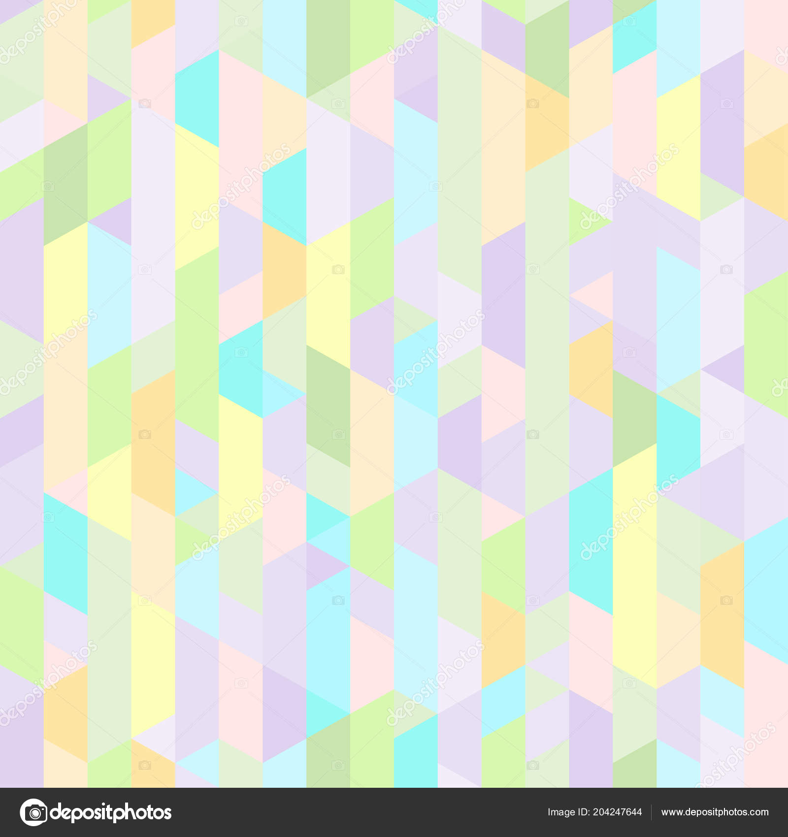 Tile Unique Texture Seamless Pattern Background Polygons