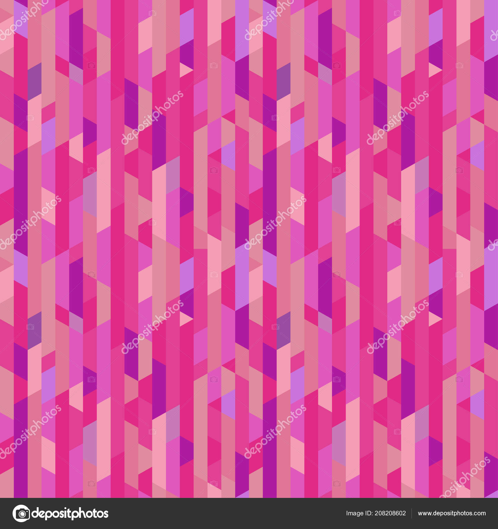 Seamless Pattern Lines Striped Multicolored Background Abstract