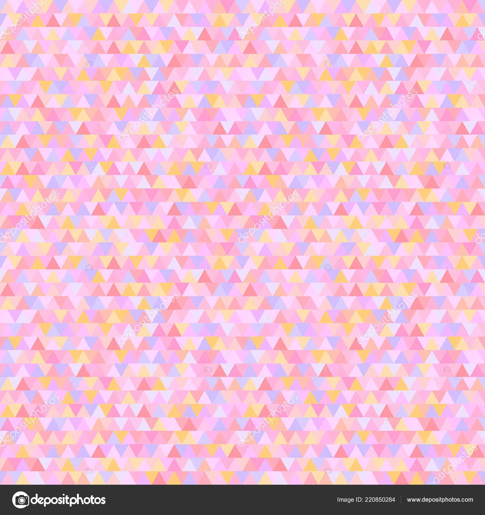 Seamless Triangle Pattern Abstract Geometric Wallpaper