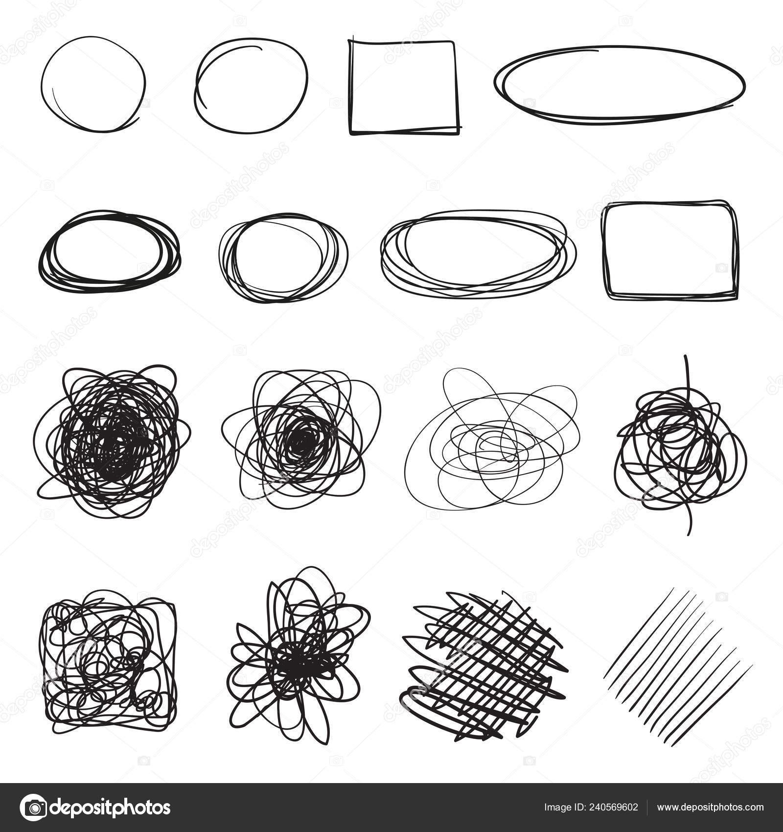Elementi Infographic Sfondo Isolamento Cornici Disegnate ...