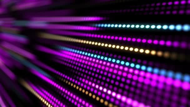 4k Disco dancing and electronic music background.