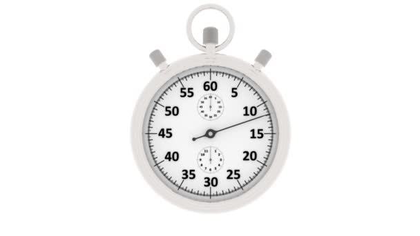 videos illustration stopwatch chronograph start measures one minute