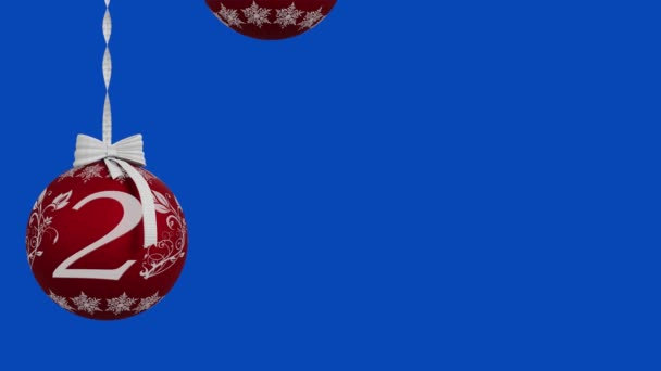 Film. 3D ilustrace. Nový rok2021. Nový rok 2021 Vánoční dekorace oznamuje nový rok.