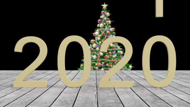 Film. 3D ilustrace. Nový rok2021. Nový rok 2021 v číslech. 2021 nahrazuje rok 2020.