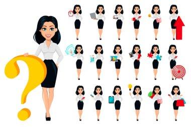 Modern genç iş kadını kavramı