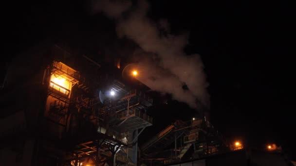 gyári cukornád éjszakai ipar teherautó