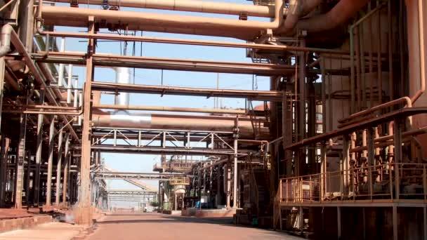 Rohrleitung Produktion Fabrik Zucker