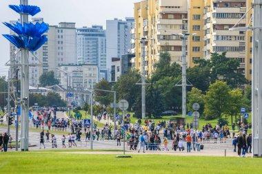 Minsk, Belarus. 10 September 2017. Minsk Marathon.