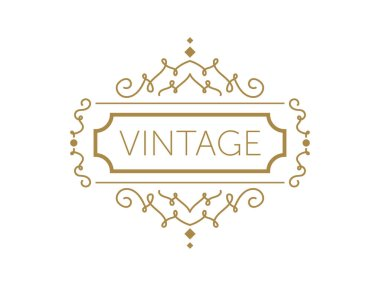 vintage frame. vector frame template with detailed border. vintage with place for your text or slogan.
