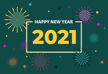happy new year 2021 premium vector download for commercial use format eps cdr ai svg vector illustration graphic art design happy new year 2021 premium vector