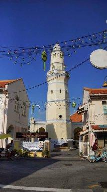 Beautiful Malay Mosque in Acheh Street, Penang