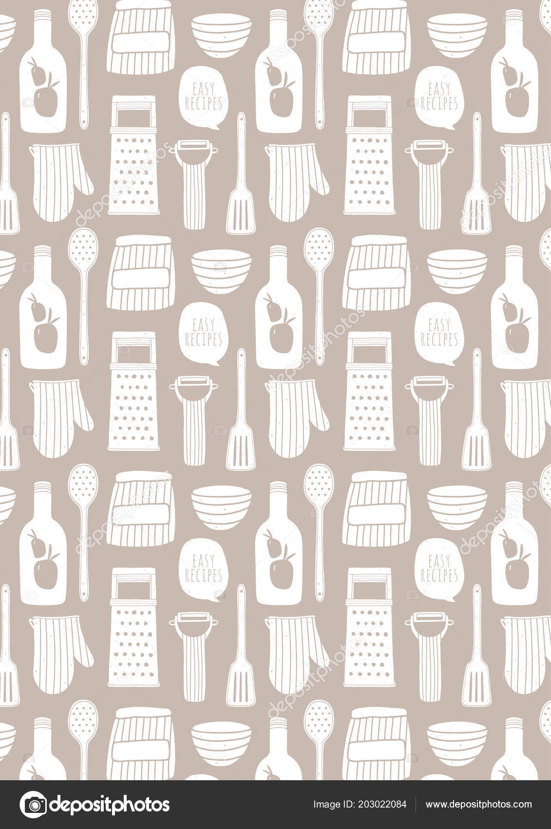 Photo Cooking Wallpaper Cooking Pattern Background