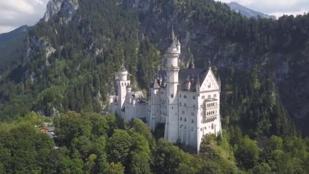 Luftaufnahme von Schloss Neuschwanstein