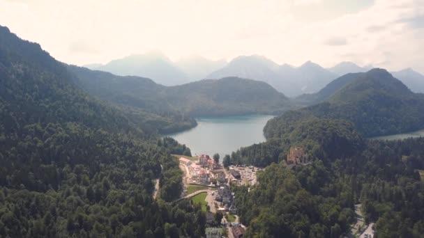 Luftaufnahme vom Alpsee