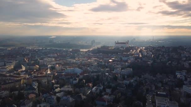 panoráma města Bratislavy