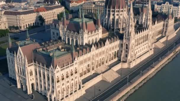 Budapesten a magyar Parlament