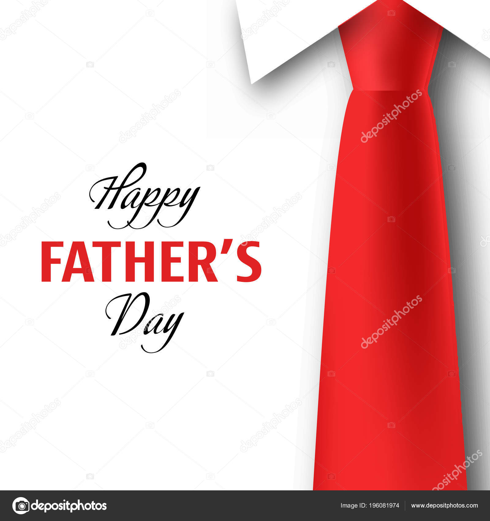 Happy fathers day greeting card vector illustration stock vector happy fathers day greeting card vector illustration stock vector m4hsunfo Image collections