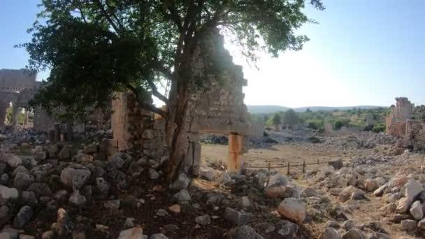 Antik kentin Kanytella, Mersin, Türkiye üzerinden sabit Cam kadeh.