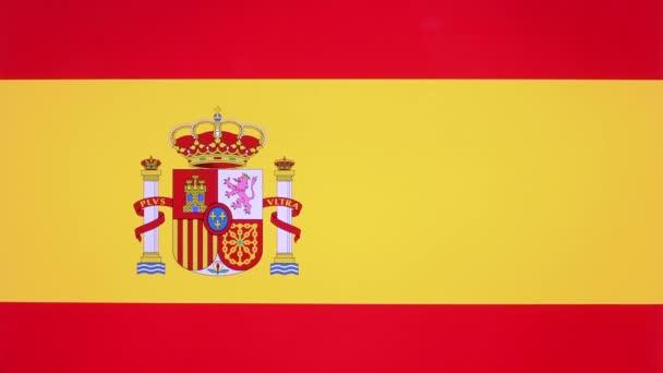 Odaad giving hüvelykujj megjelöl-val Spanyolország zászló, elfogadás gesztus-val másol hely. Pozitív véleményt jele, fogalma elismerését spanyol nemzet banner háttér, szeretet szimbólum, üres mező