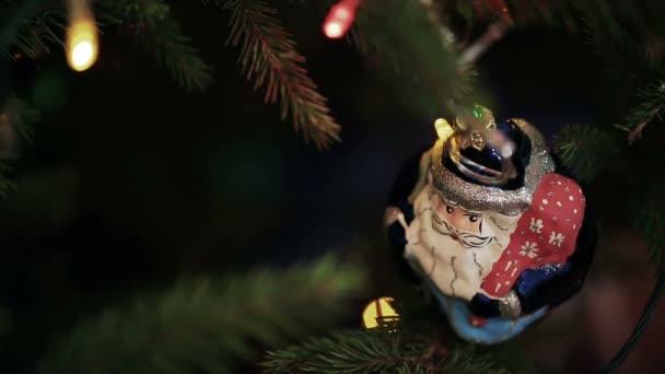 Visící Santa Claus ozdoba na vánoční stromeček