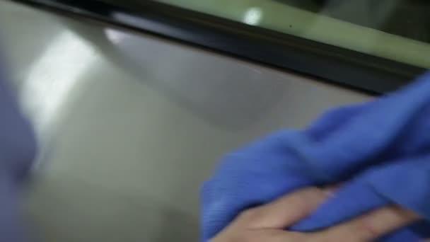 Auto mycí proces. Detailování série. POV