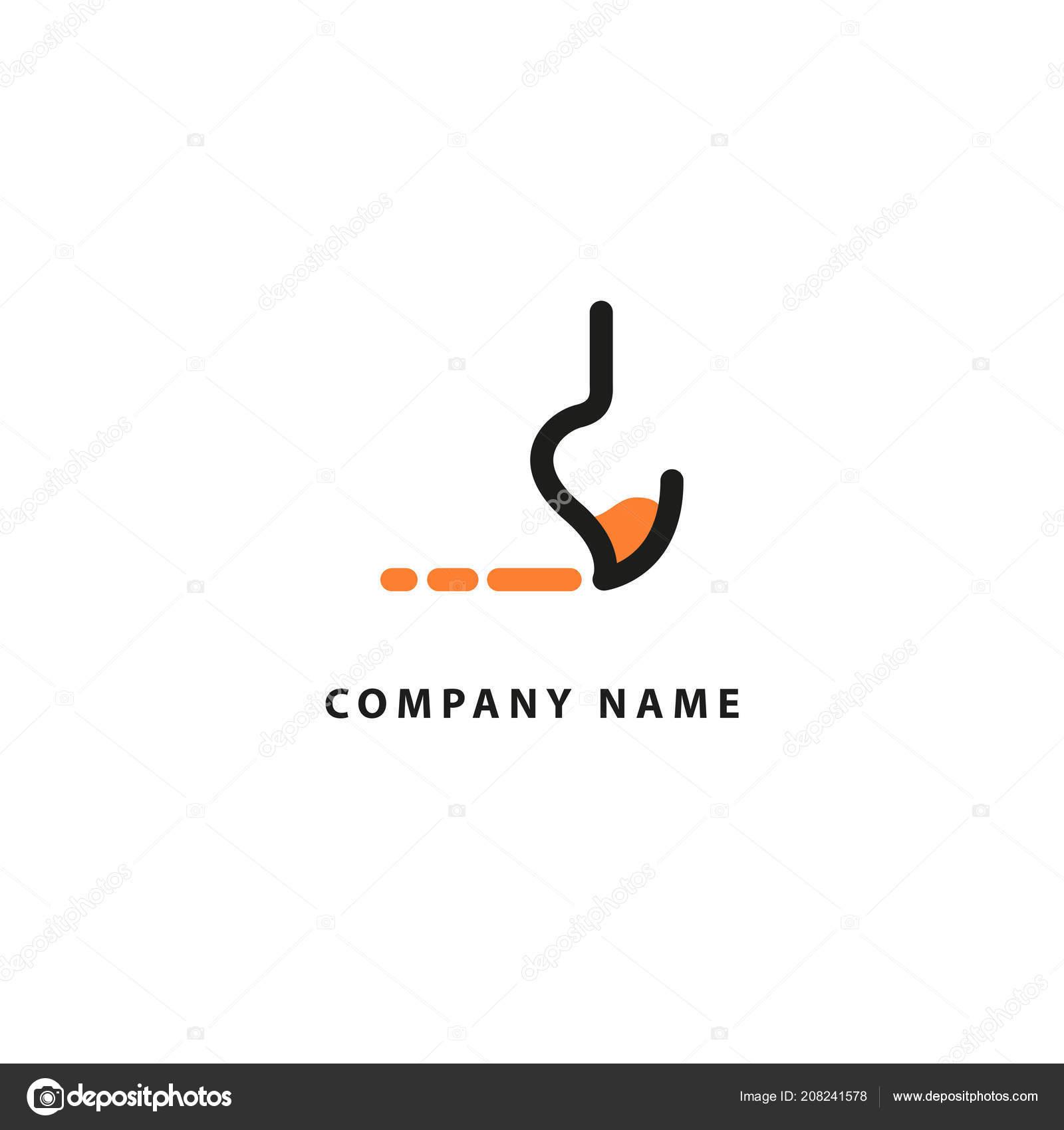 Modèle Logo Vecteur Palette Couleur Emblème Avec Pinceau Pour