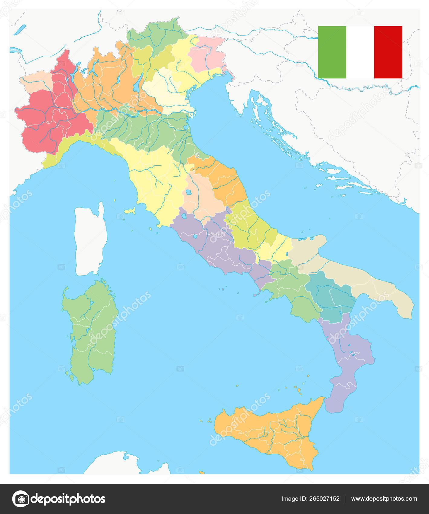 Italia Dioikhtika Tmhmata Xarth Xwris Keimeno Dianysmatiko
