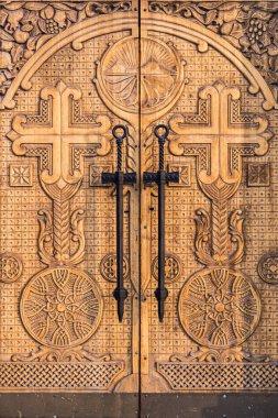 doors of the temple of St. Karapet Armenian Church