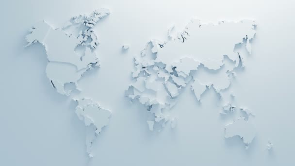 Beautiful White Global World Map of Surface Morphing in Seamless 3d on global population distribution map, global information systems, global nepal map, global wine map, global sports map, global christianity map, global temperature rise, global political map, new zealand global map, global risk game map, current global weather map, global telecommunications provider, europe map, global map south africa, global technology map, global culture map, global time map, earth real-time wind map, global air traffic control map, global earth,