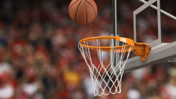 2fab2533b5e0 Мяч Летит Спиннинг Баскетбол Хооп Трибун Фон Красивая Баскетбольный ...