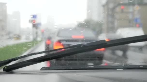 Auto sklo štětce