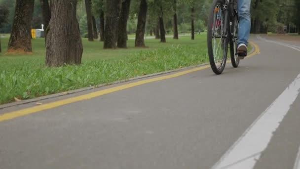 Roll cyklista na silnici