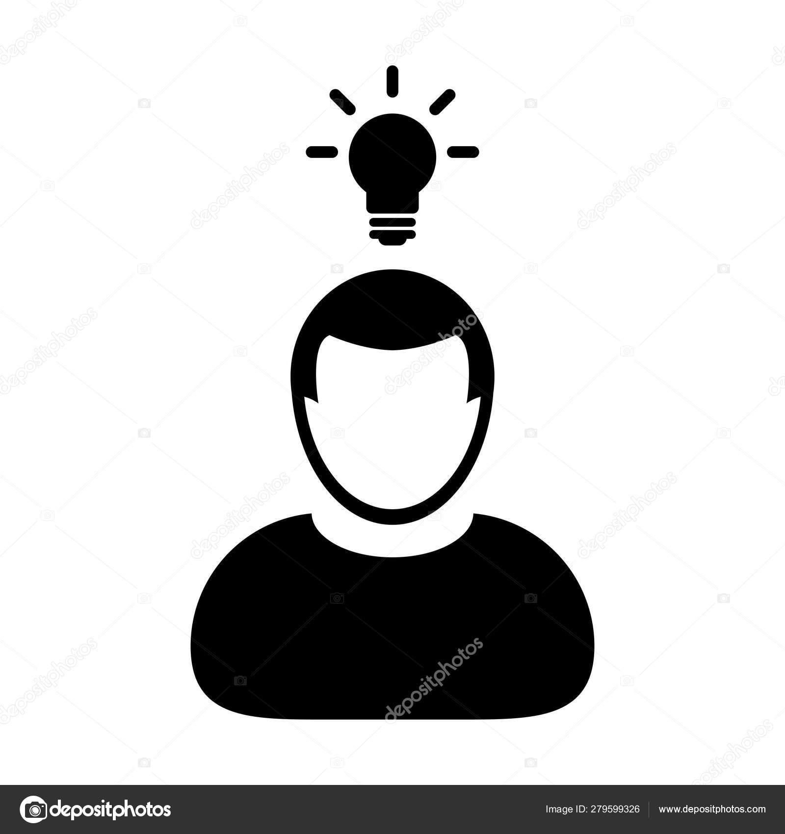 Idée De Photo De Profil symbole d'avatar de profil de personne mâle d'icône d'icône