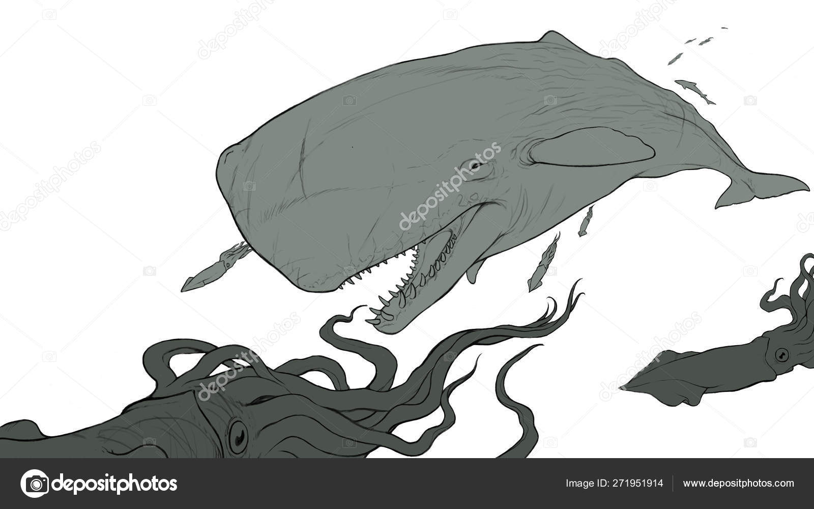 Monster strapon femdom