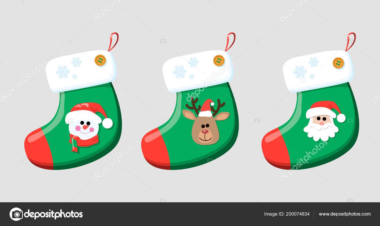 Imágenes: munecos | Calcetin de Navidad para regalos. Calcetin de ...