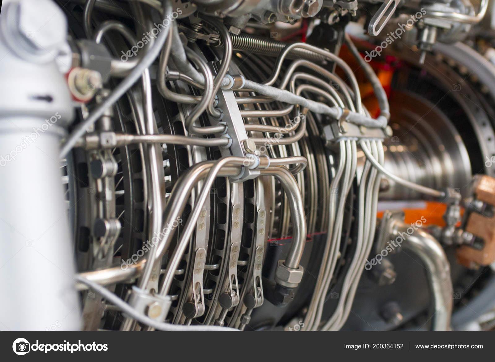 Part Turbo Jet Engine — Stock Photo © spyrakot #200364152