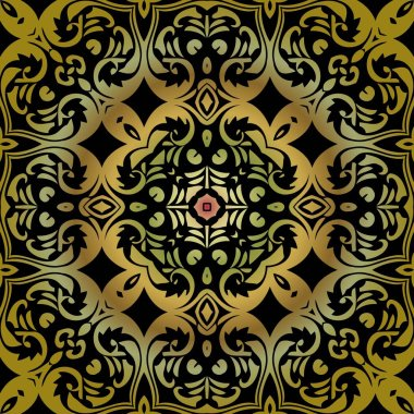 Elegant luxury texture for wallpapers, backgrounds and page fill. Colorful tribal patterns