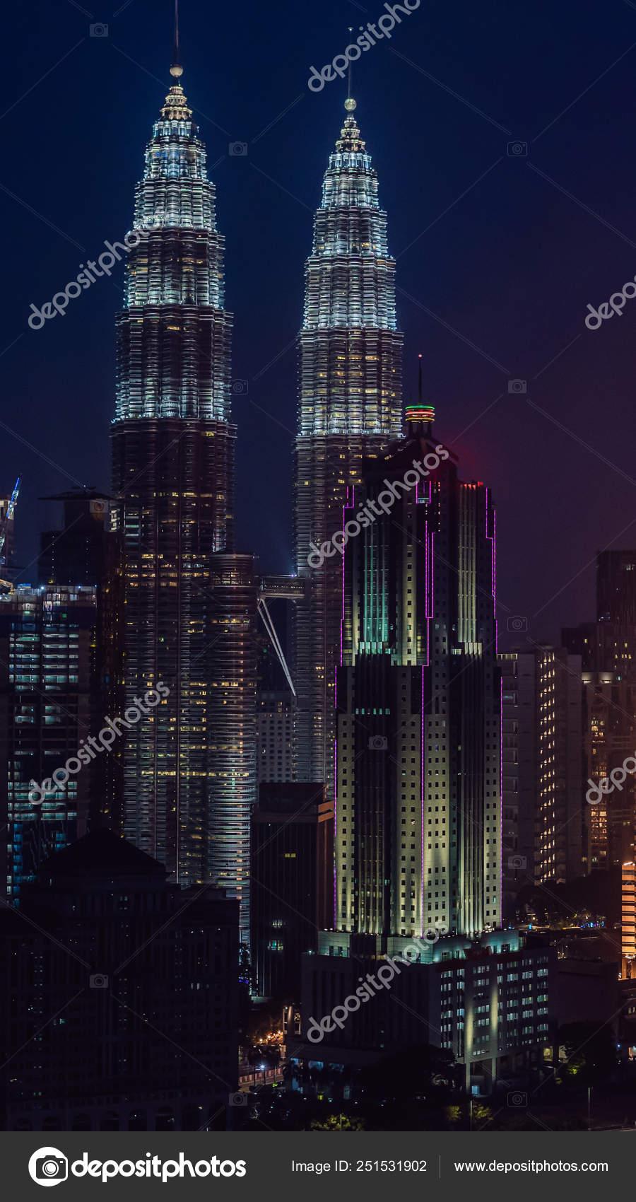 Kuala Lumpur Wallpaper Kuala Lumpur Skyline At Night