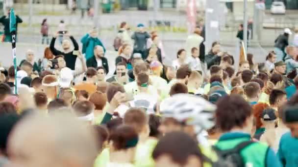 20 may 2018, Kazan, Russia- Kazan Marathon,- Sportsman on the city marathon