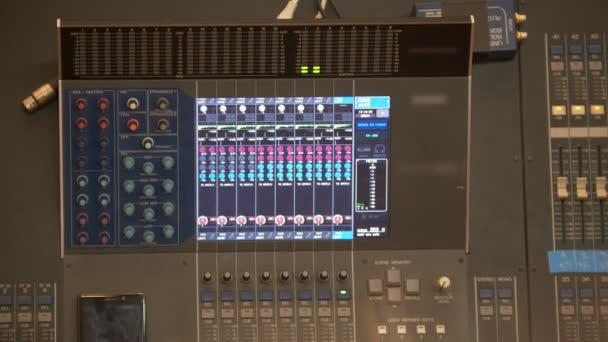 Commutata console audio professionale per il controllo audio nel lavoro