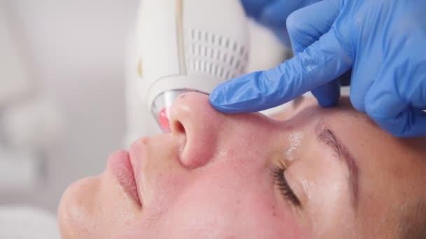 Kosmetologické procedury. Čištění pórů