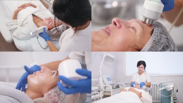 4 v 1odstranění vrásek na obličeji a krku s masáží